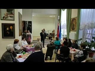 3 декабря 2019 Депутат Михаил Барышников в галерее Львовского дворца в Международный день Инвалидов