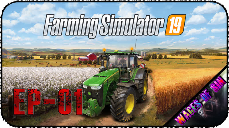 Два бомжа ищут подработку Стрим Farming Simulator 19 EP 01