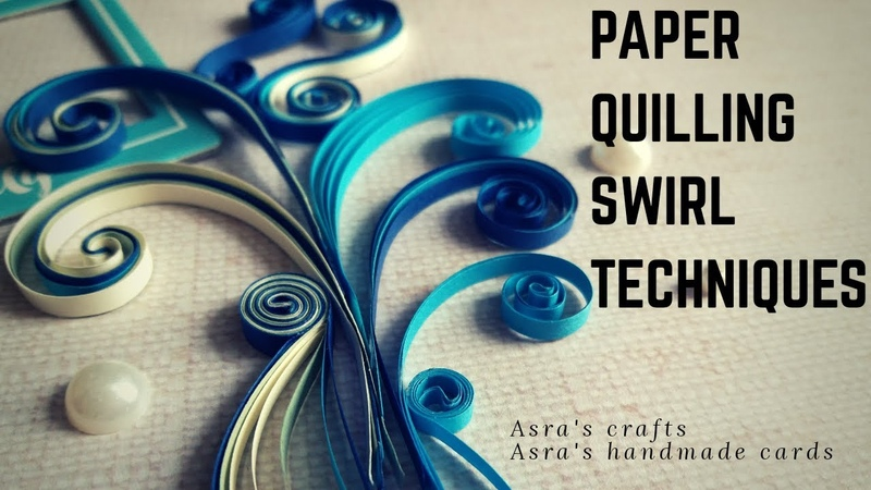 Paper Quilling Swirls Techniques Tutorial Quilling art ideas