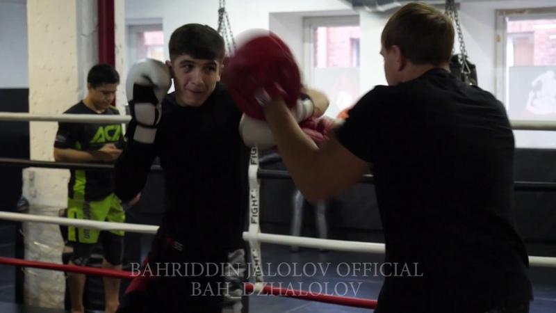 молодой боец и подающие большие надежды в профессиональном ММА Самандар Муродов