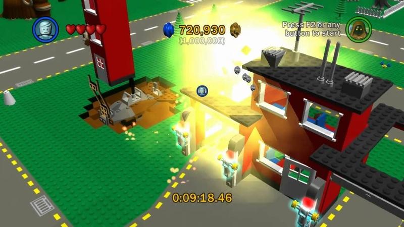 Let's Play Lego Star Wars The Complete Saga Bonus Room 5 Lego City