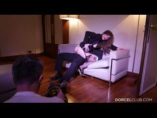 Manon Martin, Chloe Lacourt, Claire Castel, Valentina Nappi explain how to make porn movies [Pornstars, High Heels, BTS, Dorcel]