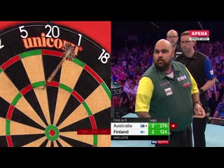 Australia vs Finland (PDC World Cup of Darts 2019 / Round 1)
