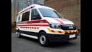 Автомобиль скорой помощи выполненный Polycar на базе MAN TGE