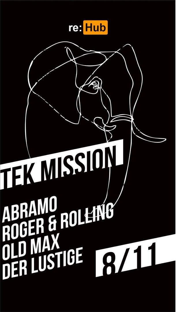 Афиша Челябинск re:HUB 08/11 TEK-MISSION / ЯНИROOM