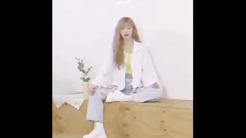 It's the way soojin sits for me