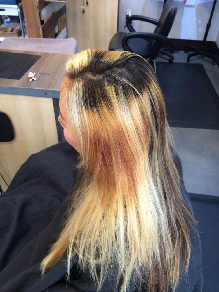 4 основные ошибки при окрашивании волос: как не допустить пятен и рыжины