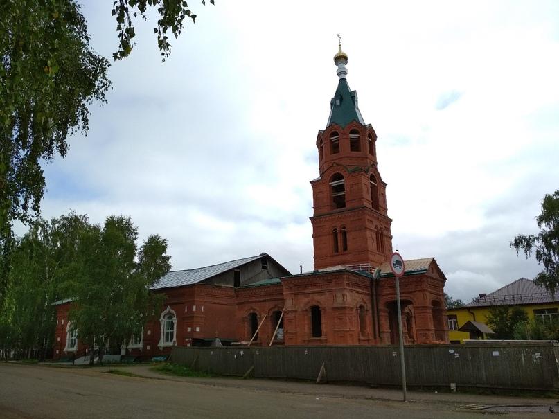 церковь в Афанасьево