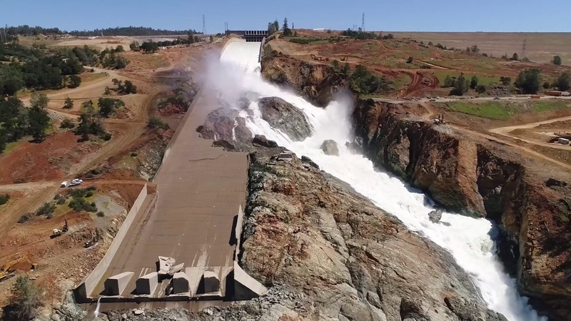 Oroville Spillway May 19 2017