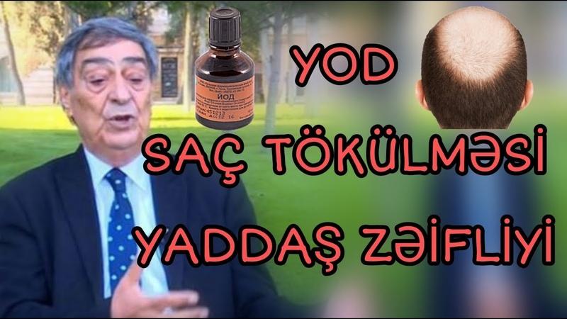 Resid Mahmudov Yod Sac Tokulmesi Yaddas Zeifliyi haqqinda