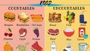 Countable Uncountable FOOD in English Food and Drinks Vocabulary