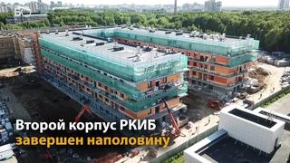 Второй корпус инфекционной больницы в Казани завершен наполовину