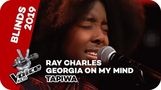 Ray Charles - Georgia On My Mind (Tapiwa) | Blind Auditions | The Voice Kids 2019 | SAT.1