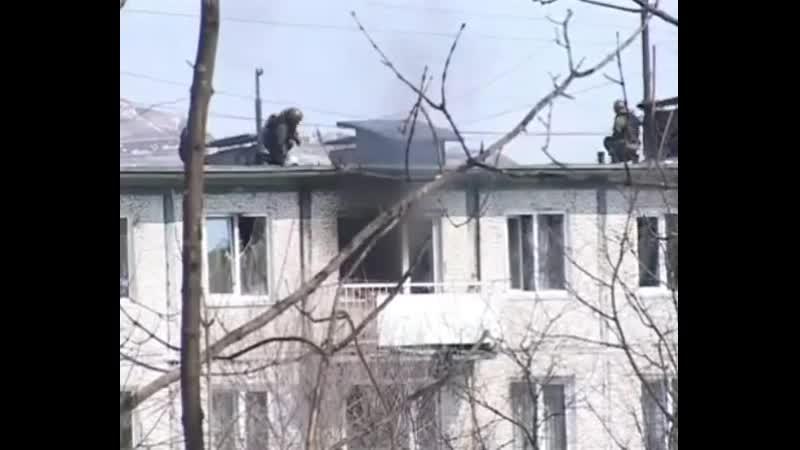 Владивосток -14 марта 2009 г. ул. Красного знамени, 99. Ликвидация вооружённой банды ингушей