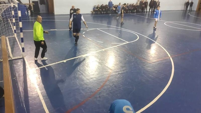 VIII кубок Козульского района по мини футболу 2019 2020 МФК Дина Ветераны 1 4 финала