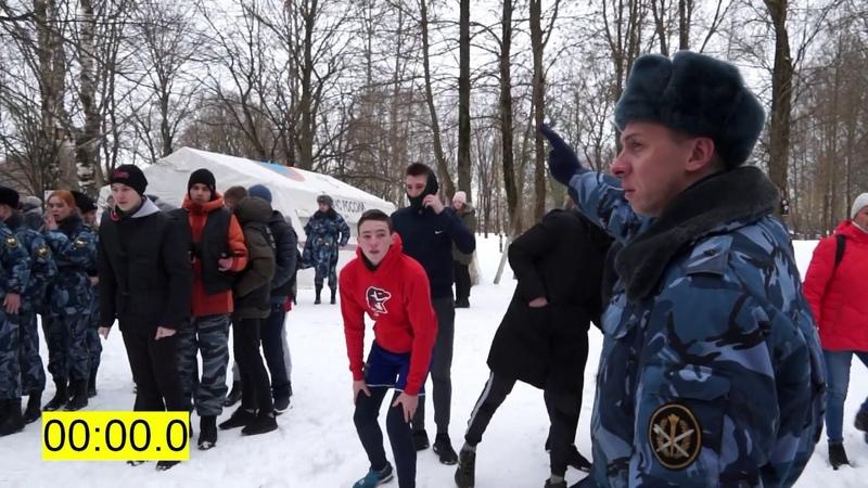 Вологда Квест ВИВАТ ПОБЕДА Команда СОШ №29 на эстафете по сборке разборке автомата