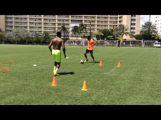Training session with jordan _ grande 1on1 soccer training