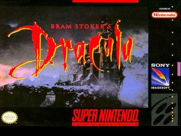 Bram Stocker's Dracula SNES Gameplay