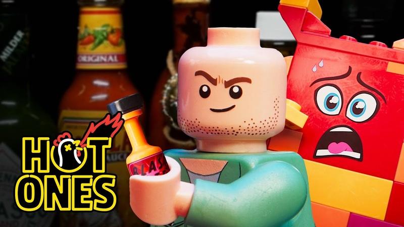 LEGO Sean Evans Interviews Queen Watevra Wa'Nabi | Hot Ones