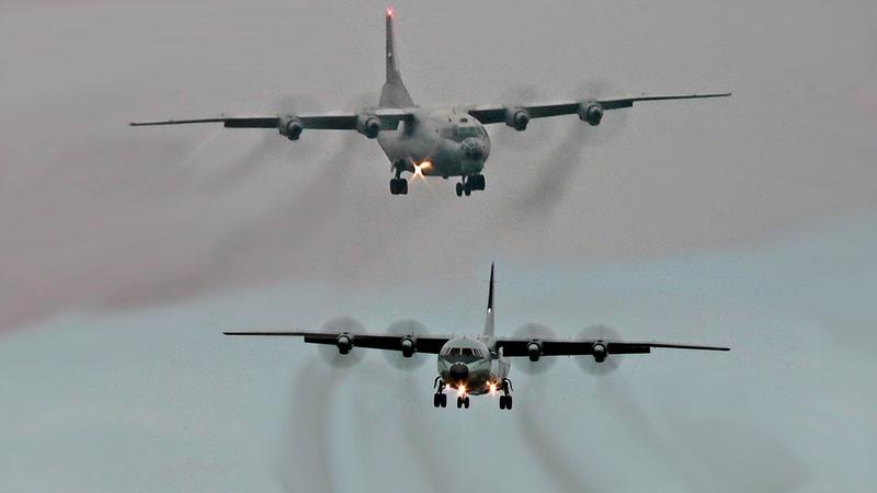 Ан-12 против Y-9 Shaanxi / Рязань - Дягилево Авиадартс 2019
