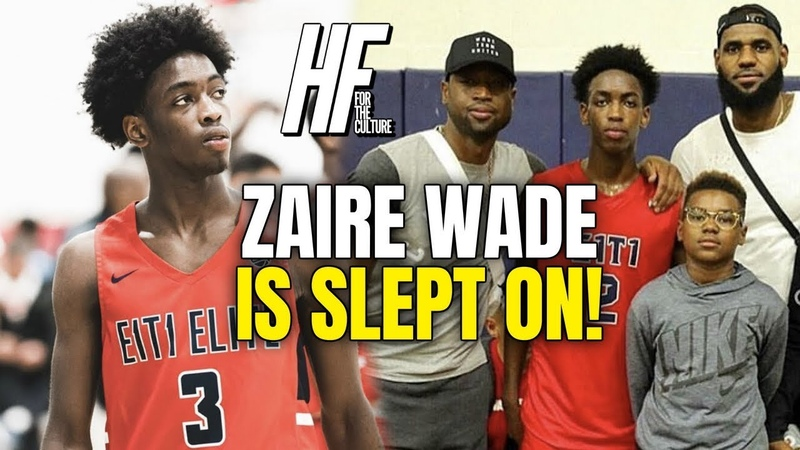 D Wade's Son Zaire Can GO EYBL Session 2 Highlights