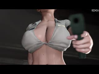 Officer rachel (dead or alive sex)