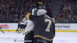 Evander Kane vs Valentin Zykov Sep 29, 2019