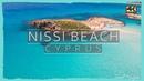 NISSI BEACH ● Cyprus 2020 Cinematic DRONE 4K📷