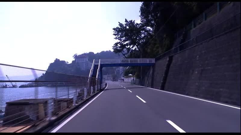 Виртуальное путешествие Шонан Изу глазами водителя Virtual Trip Shonan Izu driving view 2009