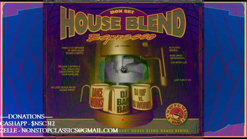 House Blend Box Set CD2 DJ Bam Bam Full Mix mixtape megamix housemusic