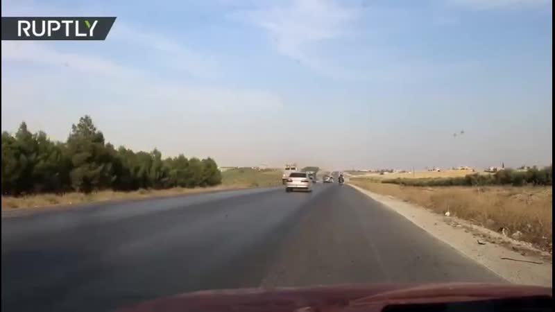 Сирийская армия входит в Кобани... а пендосы уходят..