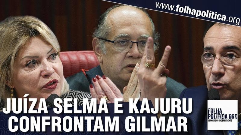 Juíza Selma, senador Kajuru e grupo 'Muda Senado' se unem para enfrentar Gilmar Mendes e..