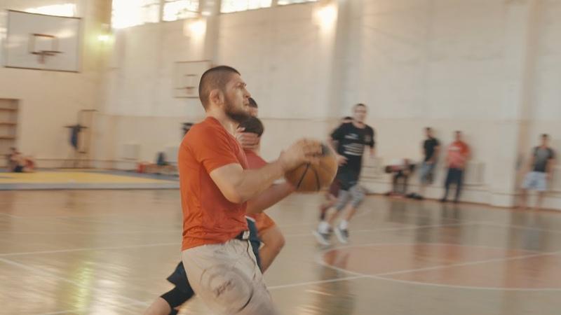 Khabib Nurmagomedov plays Dagestani Basketball during Ramadan