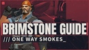 Brimstone Guide: One Way Smokes For Ranked Solo Queue
