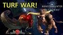 MHWorld Iceborne: Rajang vs Savage Deviljho Turf War