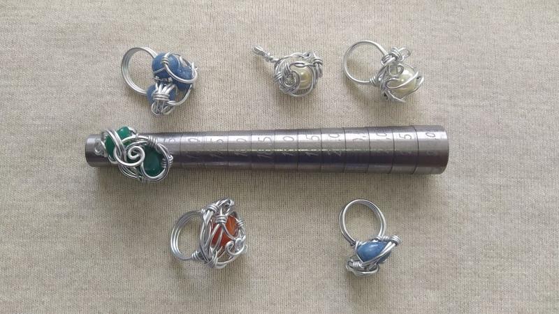 Оправка для изготовления ювелирных колец