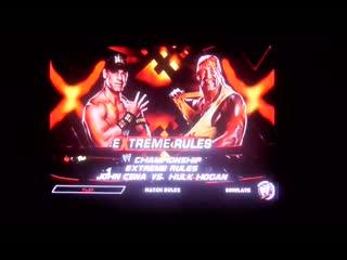 WWE2K14 Hulk Hogan vs John Cena,Slater,McIntyre vs niggers,Kane,Undertakerк vs shild,Sheamus vs alberto,triple