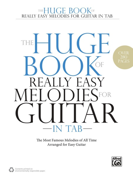 Book cover Really Easy Melodies for Guitar in Tab by Matthew Cramer