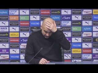 Гвардиола про выход в финал, травмы и плохую игру Манчестер Юнайтед | МС 0:1 МЮ