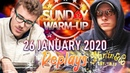 Sunday WARM-UP gbmantis | lissi stinkt | germaxi | PokerReplays 2020