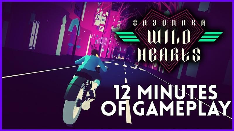 Sayonara Wild Hearts Gameplay - 12 Minutes from PAX East