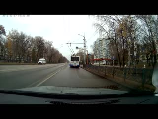Проезд кольца по правилам (Стерлитамак-Ленина)