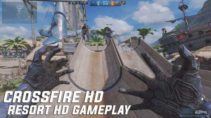 CROSSFIRE HD : WELCOME TO RESORT HD NANO MODE X GAMEPLAY CLOSED BETA III 1080P 60FPS