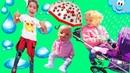 КСЮША КАК МАМА БЕБИ БОРН И НОВАЯ ОДЕЖДА! baby born toys