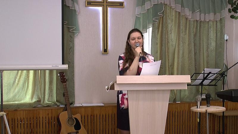 Прославление Бога сестры Елены Величковой