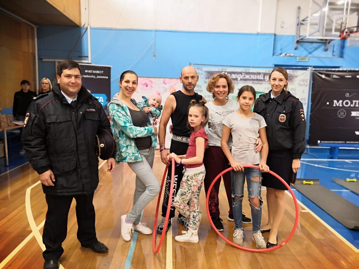 Сотрудники полиции в Коломне провели профилактическую акцию «Безопасные окна»