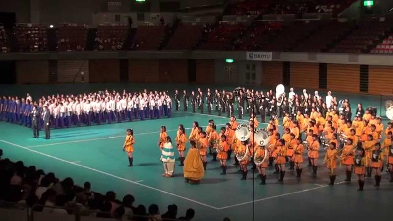 吹奏楽パフォーマンスバトル(東邦vs安城vs京都橘) ナゴヤ マーチング&