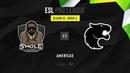 Swole Patrol vs Furia ESL Pro League Season 10 NA map2 de vertigo MintGod