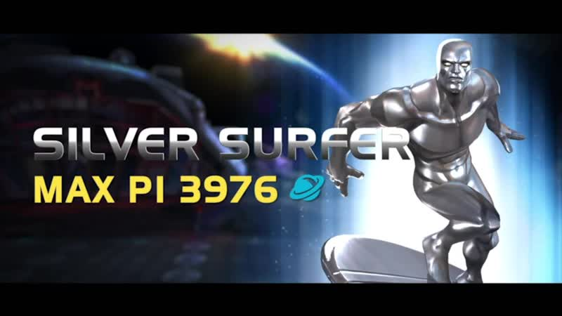Silver Surfer Серебряный Серфер Marvel Contest of Champions