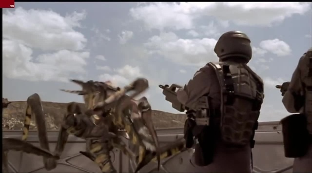 STARSHIP TROOPERS - PART 24 Outpost End Battle ( HD STEREO ) · coub, коуб